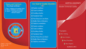 Education Brochure Templates Free Brochure Templates Illustrator Ai