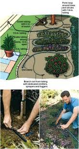 easy sprinkler system outdoor drip irrigation diy for flower beds above ground pvc fire design