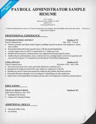 free resume templates marvelous sample samples bookkeeper to payroll administration resume