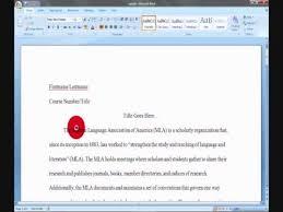 mla format your essay in microsoft word mla format your essay in microsoft word