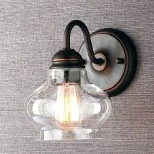 Image Wall Sconce Vintage Bathroom Vanity Lights Black Bathroom Vanity Light Ideas Using Vintage Bulbs Covered By Glass Shade Danninovcom Vintage Bathroom Vanity Lights Black Bathroom Vanity Light Ideas