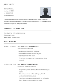 how to write a simple resume how to write a simple resume easy job resume examples simple job