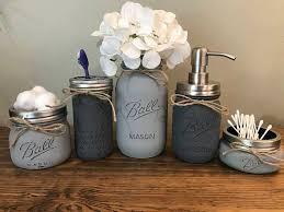 rustic bathroom decor sets