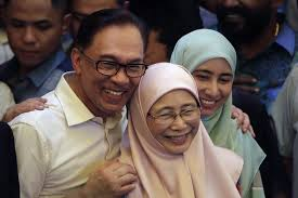 Image result for anwar ibrahim family