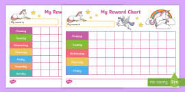 Minecraft Star Chart My Sticker Reward Chart Ks1 Resource Teacher Made