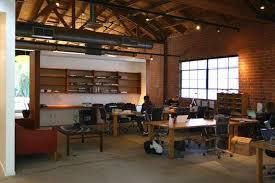 mid century modern office. modern industrial office mcm mid century