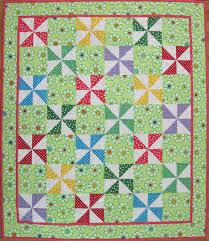 Polka Dot Pinwheel Quilt — Free Pattern | Sonya's Snippets & Polka-Dot-Pinwheel Adamdwight.com