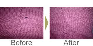穴 かがり セーター