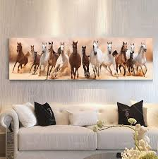 wall art canvas oil painting beautiful landscape horse picture living room home decoration print on canvas no frame in painting calligraphy from home  on wall art pictures of horses with wall art canvas oil painting beautiful landscape horse picture