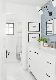 Guest bathroom ideas Bronze Emily Henderson Bathroom Remodel Ideas Emily Henderson Reveal Alert How Transformed The Dark Dull Downstairs Guest