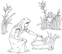 Small Picture Baby Moses Printables Coloring Coloring Pages