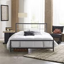 Premier Karina Metal Platform Bed Frame Queen with Bonus Base