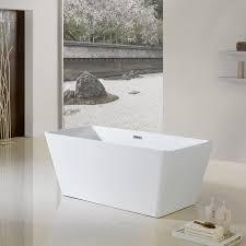 66 burbank freestanding bathtub