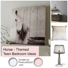 Horse Theme Teen Bedroom Ideas   Curated By FineCraftGuild