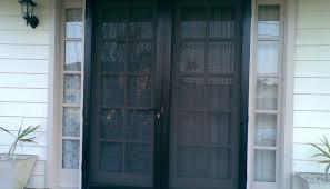 Door : Elegant French Storm Doors Exterior Awesome Larson Screen ...