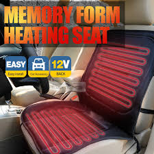 this heated seat covers against the cold winter with maintain heat effect inside seat cover
