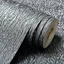 black textured wallpaper silver grey black metallic textured wallpaper roll gray modern striped vinyl plain wall