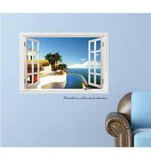 Magisches 3d Fenster Wandaufkleber Wand Dekoration
