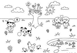 Small Picture Spring Weather Coloring Pages Boys Coloring Pages Park Coloring
