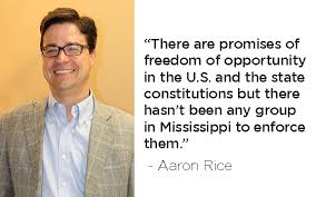 a conversation with Rice on Mississippi Justice Institute | The Northside  Sun