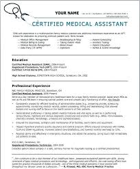 Medical Assistant Resumes And Cover Letters Magnificent Medical Assistant Cover Letter Examples With No Experience Example