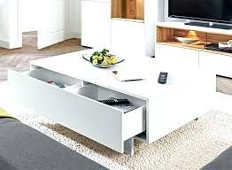 white coffee table with storage modern coffee table with storage image of modern white coffee table