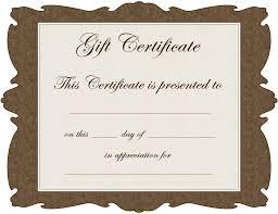 best photos of gift voucher template certificate gift voucher gift certificate templates