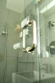 how to remove hard water stains from shower doors hard water stains on shower glass doors