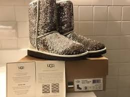 Image is loading Women-s-UGG-Classic-Short-Sparkles-3353-with-
