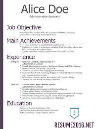 correct format of resumes chronological resume formatting micri