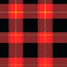 red buffalo plaid flannel pattern leggings and black rugs