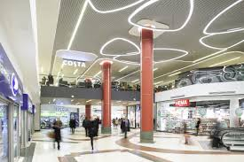 working with haskoll architects e lea lighting developed the lighting solution for victoria place ping centre the newly refurbished retail and