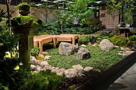 Outdoor Principles Of Japanese Garden Design Giving Everlasting Look  Relaxing Area At Home With