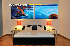large canvas painting 2 piece canvas wall art ocean bedroom art ocean large canvas ocean multi on extra large ocean wall art with large canvas painting 2 piece canvas wall art ocean bedroom art