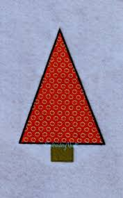 Christmas Tree In Chart Paper Christmas Tree 2 Embroidery Design Multiple Formats
