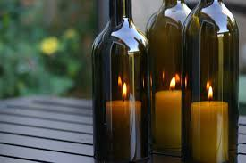 Wondrous Empty Wine Bottles Together With Table Tiki Torches Eight Everyday  Uses in Wine Bottle Candle
