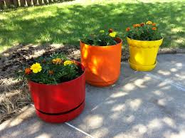 plastic flower pots flower pots