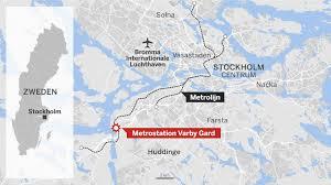 Dodelijke Ontploffing Aan Metrostation Stockholm Lijkt Geen De