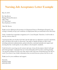 Employment Acceptance Letter 9 Job Acceptance Letter Template Examples Samples Top