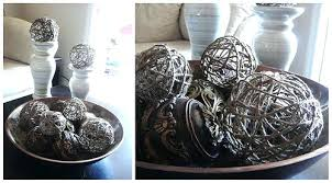 Decorative Bowl With Balls