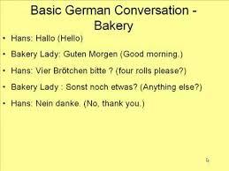 learn basic words in german learn