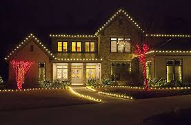 Outdoor christmas lighting ideas Blue White Led Christmas Lights Christmas Lights Etc Outdoor Christmas Lights Ideas For The Roof