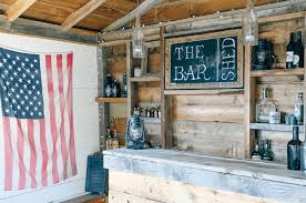 forget man caves backyard bar sheds