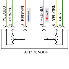 accelerator pedal position sensors autosphere figure 2 photo alldata