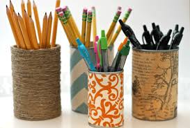 Upcycled DIY Pencil Holders
