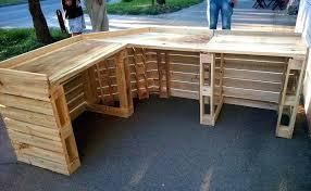 pallet outdoor bar pallet bar plans best of recent bar building plans baby stuff pallet wood