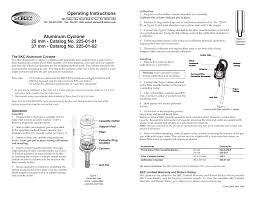 SKC 225-01-01_02 Respirable Dust Aluminum Cyclone User Manual | 1 page