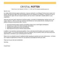 Leading Computers Technology Cover Letter Examples Resources