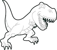Realistic Dinosaur Coloring Pages Free Printable Realistic Dino