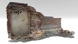 old brick wall 3d model turbosquid